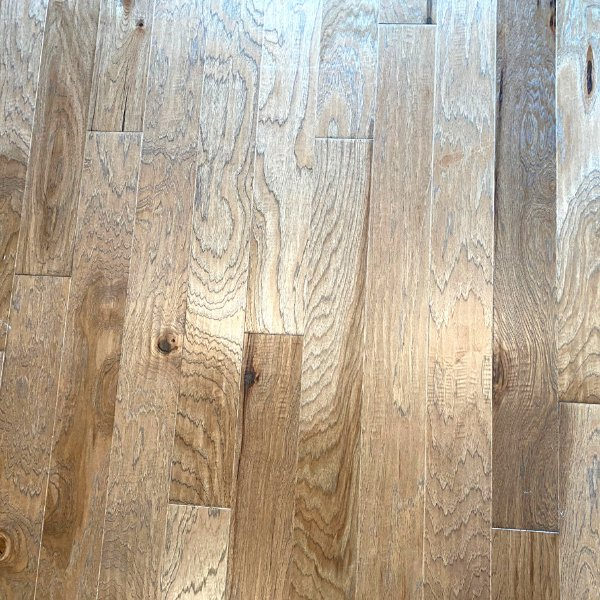 A clean hardwood floor in Brownstown, Michigan